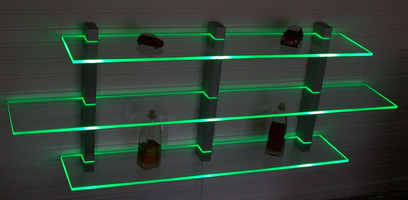 Led Regale Led Regale Cd Dvd Rgb Design Beleuchtung